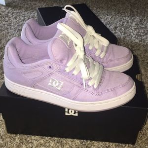 Lavender DC shoes.. girly and cute
